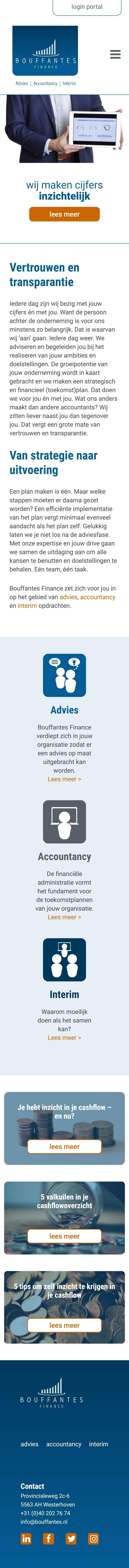 Bouffantes finance